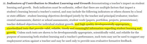 NEA teacher eval 2011